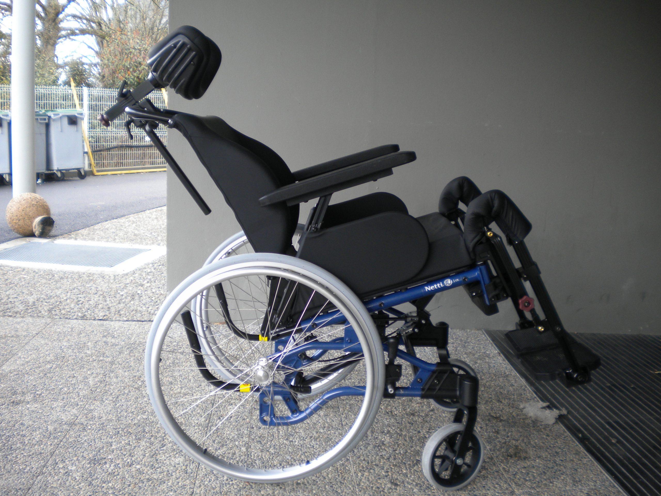 fauteuil roulant confort Netti